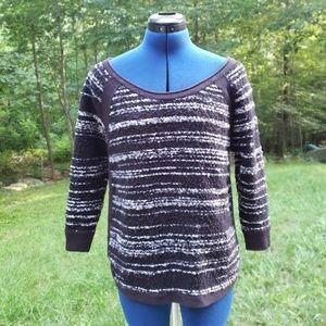 Liz Claiborne Striped Knit Sweater